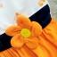ชุดกระโปรงหนูน้อย คาดเอวด้วยดอกไม้จิ๋วน่ารัก thumbnail 3