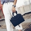 [ ลดราคา ] - กระเป๋าแฟชั่น ถือ&สะพาย สีดำคลาสสิค ใบกลางๆ ดีไซน์สวยเท่เก๋ๆ งานหนังคุณภาพ เหมาะสำหรับสาวๆ Working Woman เท่ๆสุดๆน่าใช้ thumbnail 4