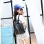[ ลดราคา ] - กระเป๋าเป้แฟชั่น สไตล์เกาหลี สีดำคลาสสิค ปักหมุด X เก๋ ดีไซน์สวยเท่ๆ เหมาะสำหรับสาวๆ ที่ชอบเป้ใบกลางๆ เท่ๆ โดดเด่นไม่ซ้ำใคร thumbnail 14