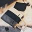 [ ลดราคา ] - กระเป๋าแฟชั่น Set 2 ชิ้น ถือ&สะพาย สีทรีโทนขาวเทาดำ ใบกลางๆ ดีไซน์สวยเก๋ ปรับใช้งานได้หลายสไตล์ thumbnail 24