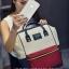 [ ลดราคา ] - กระเป๋าเป้แฟชั่น สไตล์เกาหลี สีทรีโทน ใบใหญ่จุของเยอะ ดีไซน์สไตล์แบรนด์สุดฮิต เหมาะกับสาว ๆ ที่ชอบกระเป๋าเป้ใบใหญ่ๆ แต่น้ำหนักเบา thumbnail 8