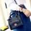 [ ลดราคา ] - กระเป๋าแฟชั่น สะพายไหล่ สีดำคลาสสิค ไซส์ MINI กระทัดรัด ดีไซน์สวยเรียบหรู งานหนังคุณภาพ เหมาะสำหรับสาวๆ thumbnail 1