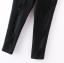 กางเกงขาห้าส่วนสีดำแต่งรอยขาด thumbnail 5