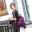 [ ลดราคา ] - กระเป๋าเป้แฟชั่น สไตล์เกาหลี สีน้ำเงิน สุดชิค น้ำหนักเบา พกพาง่าย ดีไซน์สวยเก๋ ไม่ซ้ำใคร เหมาะกับสาว ๆ ที่เน้นความคล่องตัว thumbnail 13