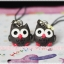 Cute owl [black] thumbnail 1