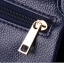 [ ลดราคา ] - กระเป๋าแฟชั่นสะพายไหล่ นำเข้าสไตล์เกาหลี สีน้ำเงินเข้ม โดดเด่นสุดๆ ดีไซน์เรียบหรู แบบสวยเก๋ ห้อยพู่ด้านหน้าเก๋ๆ ไม่ซ้ำแบบใคร งานหนังคุณภาพอย่างดี thumbnail 14