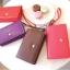 [ พร้อมส่ง ] - กระเป๋าสตางค์แฟชั่น สไตล์เกาหลี สีม่วงสุดชิค ใบยาว แต่งกระรอกน้อย งานสวยน่ารัก น่าใช้มากๆค่ะ thumbnail 4