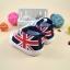 รองเท้าคัชชูเด็กอ่อน ลายธงอังกฤษ Size 11 12 13 thumbnail 3