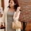 [ พร้อมส่ง ] - กระเป๋าแฟชั่น ถือ&สะพาย สไตล์เกาหลี สีดำคลาสสิค ทรงหมอนตั้งได้ ไซส์ MINI ดีไซน์สวยเก๋ งานหนังสวยแบบสาน เหมาะทุกโอกาสการใช้งาน thumbnail 11