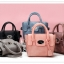 [ พร้อมส่ง ] - กระเป๋าแฟชั่น สไตล์เกาหลี ใบเล็กๆกระทัดรัด ดีไซน์สวยน่ารัก มีสายสะพายยาว thumbnail 1