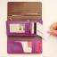 [ พร้อมส่ง ] - กระเป๋าสตางค์แฟชั่น สไตล์เกาหลี สีน้ำตาลเข้ม ใบยาว แต่งกระรอกน้อย งานสวยน่ารัก น่าใช้มากๆค่ะ thumbnail 14