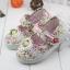 รองเท้าคัชชูผ้าดอกไม้หวานๆ น่ารัก (เท้ายาว 13-16.5 ซม.) thumbnail 7