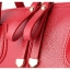 [ Pre-Order ] - กระเป๋าแฟชั่น ถือ/สะพาย สีชมพู ทรงหมอนตั้งได้ ใบกลางๆ ดีไซน์สวยเรียบหรู ดูดี งานหนังคุณภาพ อย่างดี thumbnail 13