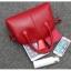 [ Pre-Order ] - กระเป๋าแฟชั่น ถือ/สะพาย สีชมพู ทรงหมอนตั้งได้ ใบกลางๆ ดีไซน์สวยเรียบหรู ดูดี งานหนังคุณภาพ อย่างดี thumbnail 17