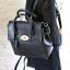 [ ลดราคา พร้อมส่ง Hi-End ] - กระเป๋าแฟชั่น นำเข้าสไตล์เกาหลี สีดำคลาสสิค ดีไซน์แบรนด์ดังแบบยุโรป งานหนังคุณภาพแบบสาน เหมาะสำหรับสาวๆ Working Woman ดูไฮโซสุดๆน่าใช้ thumbnail 7