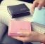 [ พร้อมส่ง ] - กระเป๋าสตางค์แฟชั่น สไตล์เกาหลี ใบเล็ก หนังนิ่มน้ำหนักเบา พกพาสะดวก แบบ 3 พับ กระดุมปิด thumbnail 4