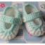 รองเท้าไหมพรมถักทารกชายคลอดก่อนกำหนด thumbnail 1