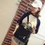 [ พร้อมส่ง HI-End ] - กระเป๋าเป้แฟชั่น สไตล์เกาหลี สีดำคลาสสิค ปักหมุดข้างสุดเก๋ ดีไซน์สวยเท่ๆ งานผ้าร่มไนลอนอย่างดี น้ำหนักเบา น่าใช้มากๆค่ะ thumbnail 8