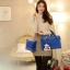 สินค้าไม่ผ่าน QC***[ พร้อมส่ง Hi-End ] - กระเป๋าแฟชั่น นำเข้าสไตล์เกาหลี Set 3 in 1 สีครีม ดีไซน์แบรนด์ดังแบบยุโรป งานหนังคุณภาพ แบบสวยเรียบหรู ดูไฮโซสุดๆน่าใช้ คุ้มค่ามากๆค่ะ thumbnail 17