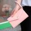 [ Pre-Order ] - กระเป๋าสตางค์แฟชั่น สไตล์เกาหลี สีชมพูอ่อน ใบใหญ่(รุ่นใหม่หนังสวย) แต่งมงกุฎ งานหนังอัดลายสวยน่ารัก น่าใช้มากๆค่ะ thumbnail 6