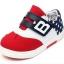 รองเท้าคัชชูกีฬาเด็กเท่ห์ๆ B.boy ดาวธงอเมริกา สีแดงขาวกรม Size 21-32 thumbnail 8