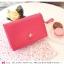 [ พร้อมส่ง ] - กระเป๋าสตางค์แฟชั่น สไตล์เกาหลี สีชมพูโดดเด่น ใบยาว แต่งนกน้อย งานสวยน่ารัก น่าใช้มากๆค่ะ thumbnail 2
