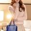 [ ลดราคา พร้อมส่ง Hi-End ] - กระเป๋าแฟชั่น นำเข้าสไตล์เกาหลี Set 4 in 1 สีน้ำเงิน ดีไซน์แบรนด์ดังแบบยุโรป งานหนังคุณภาพ แบบสวยเรียบหรู ดูไฮโซสุดๆน่าใช้ คุ้มค่ามากๆค่ะ thumbnail 8