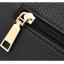 [ พร้อมส่ง ] - กระเป๋าแฟชั่น ถือ/สะพาย สีดำคลาสสิค ใบกลางๆ ทรงตั้งได้ ดีไซน์สวยเรียบหรู ดูดี งานหนังคุณภาพ ช่องใส่ของเยอะ thumbnail 17