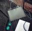 [ Pre-Order ] - กระเป๋าแฟชั่น ถือ/สะพาย สีเทาเข้ม ทรงสี่เหลี่ยมขนาดกระทัดรัด ดีไซน์สวยเรียบหรู ดูดี งานหนังคุณภาพ คุ้มค่าการใข้งาน thumbnail 10