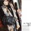 [ Pre-Order ] - กระเป๋าแฟชั่น นำเข้าสไตล์เกาหลี สีดำ แต่งหัวกระโหลกด้านหน้า มีกระเป๋าเล็ก 2 ข้างมีสายยาวเท่ห์มากๆค่ะ thumbnail 10
