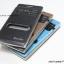 เคส Huawei Ascend P6 รุ่น 2 ช่อง รูดรับสาย ลายผ้าไหม thumbnail 2