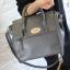 [ ลดราคา พร้อมส่ง Hi-End ] - กระเป๋าแฟชั่น นำเข้าสไตล์เกาหลี สีดำคลาสสิค ดีไซน์แบรนด์ดังแบบยุโรป งานหนังคุณภาพแบบสาน เหมาะสำหรับสาวๆ Working Woman ดูไฮโซสุดๆน่าใช้ thumbnail 3