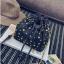 [ พร้อมส่ง ]***จำนวนจำกัด - กระเป๋าแฟชั่น/สะพาย สีดำ ทรงขนมจีบ ใบเล็กกระทัดรัด ปักหมุดเก๋ๆ ดีไซน์สวยเก๋ๆ ดูดี โดดเด่นไม่ซ้ำใคร thumbnail 11