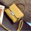 [ Pre-Order ] - กระเป๋าแฟชั่น ถือ/สะพาย สีเหลือง ทรงสี่เหลี่ยม ใบเล็กกระทัดรัด ดีไซน์สวยเรียบหรู ดูดี งานหนังคุณภาพ คุ้มค่าการใข้งาน thumbnail 13