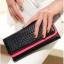 [ พร้อมส่ง ] - กระเป๋าสตางค์แฟชั่น สีชมพู ใบยาว แต่งลายหนังงู ตัดขอบสีชมพู งานสวย น่าใช้มากๆค่ะ thumbnail 4