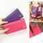 [ พร้อมส่ง ] - กระเป๋าสตางค์แฟชั่น สไตล์เกาหลี สีน้ำตาลเข้ม ใบยาว แต่งกระรอกน้อย งานสวยน่ารัก น่าใช้มากๆค่ะ thumbnail 11