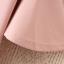 มินิเดรสสาวอวบแขนระบายผ้าโพลีเอสเตอร์สีชมพูพาสเทลสกรีนลวดลายด้านหน้าและหลัง thumbnail 6