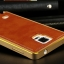 Luxury Leather Metal Aluminum Bumper Frame For Samsung Galaxy NOTE 3 thumbnail 12