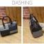[ Pre-Order ] - กระเป๋าแฟชั่น นำเข้าสไตล์เกาหลี สีทูโทนเทา-ดำ ทรงหมอนใบหลาง ห้อยป้อมๆ สไตล์สาวมั่น ดีไซน์สวยเก๋เท่ๆ thumbnail 14