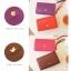 [ พร้อมส่ง ] - กระเป๋าสตางค์แฟชั่น สไตล์เกาหลี สีม่วงสุดชิค ใบยาว แต่งกระรอกน้อย งานสวยน่ารัก น่าใช้มากๆค่ะ thumbnail 8