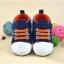 รองเท้าคัชชูเด็กอ่อน สีน้ำเงินเข้ม Size 12 13 14 thumbnail 1