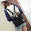 [ พร้อมส่ง HI-End ] - กระเป๋าเป้แฟชั่น สไตล์เกาหลี สีดำคลาสสิค ปักหมุดข้างสุดเก๋ ดีไซน์สวยเท่ๆ งานผ้าร่มไนลอนอย่างดี น้ำหนักเบา น่าใช้มากๆค่ะ thumbnail 10