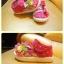 รองเท้าคัชชูผ้าเด็กเล็ก สีชมพู Kitty (เท้ายาว 11-14 ซม.) thumbnail 2