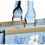 [ ลดราคา ] - กระเป๋าแฟชั่น นำเข้าสไตล์เกาหลี สีฟ้าพาสเทลพิมพ์ลายดอกไม้ สีสันโดดเด่นเก๋ๆ ดีไซน์แบรนด์ดัง ทรงตั้งอยู่ทรงได้ งานหนังคุณภาพ แบบสวยเรียบหรู ดูดีทุกโอกาสการใช้งาน สาวๆห้ามพลาด thumbnail 16