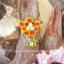 ต่างหูดินปั้น ผึ้งกับรังผึ้ง Bee & Honeycomb thumbnail 3