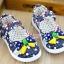 รองเท้าคัชชูเด็กหญิง สีน้ำเงิน โบว์จุด น่ารัก Size 27-32 สำหรับเด็กวัย 3-6 ปี thumbnail 2
