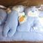 ชุดที่นอนเด็กอ่อน ผ้าขนหนู ลายการ์ตูนน่ารัก - Nuebabe thumbnail 2
