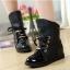 รองเท้าบู๊ทดำ เท่ห์ หรู สไตล์ยุโรป-อเมริกัน Size 36 - 40 thumbnail 1