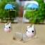 Rainy white bunny thumbnail 2