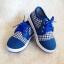 รองเท้าคัชชูผ้า แฟชั่นเด็กชาย สีน้ำเงิน Size 27-32 thumbnail 4